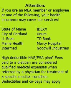 Insurance blurb